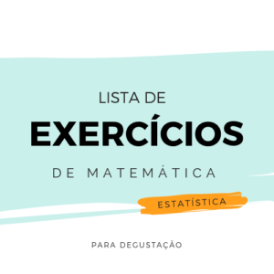 Lista de Exercícios – Matemática M003